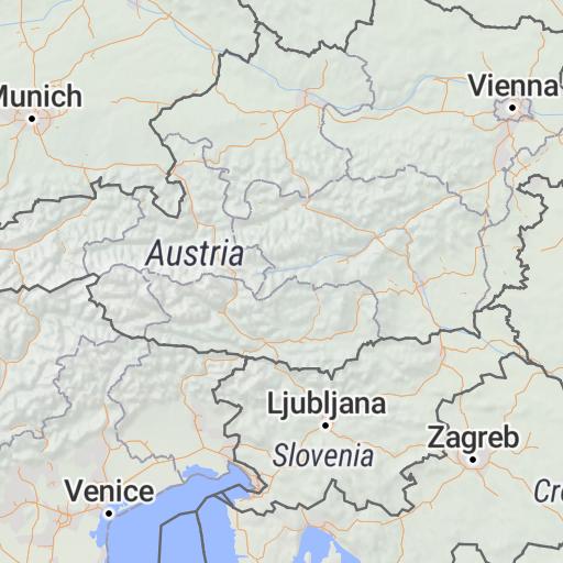 Srbija auto karta - Geoforma FZE - Avenza Maps