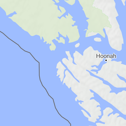 Chichagof Island Map on
